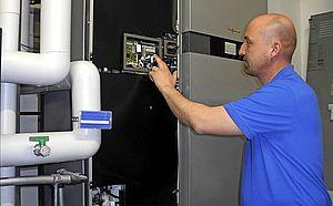 Inbetriebnahme der Brennstoffzelle