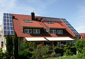 Solarstromanlage - Mehrfamilienhaus