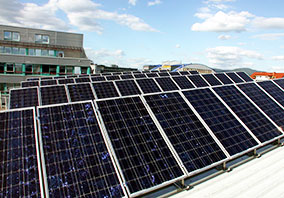 Solarstromanlage - Betriebsgebäude Walter Vögele GmbH
