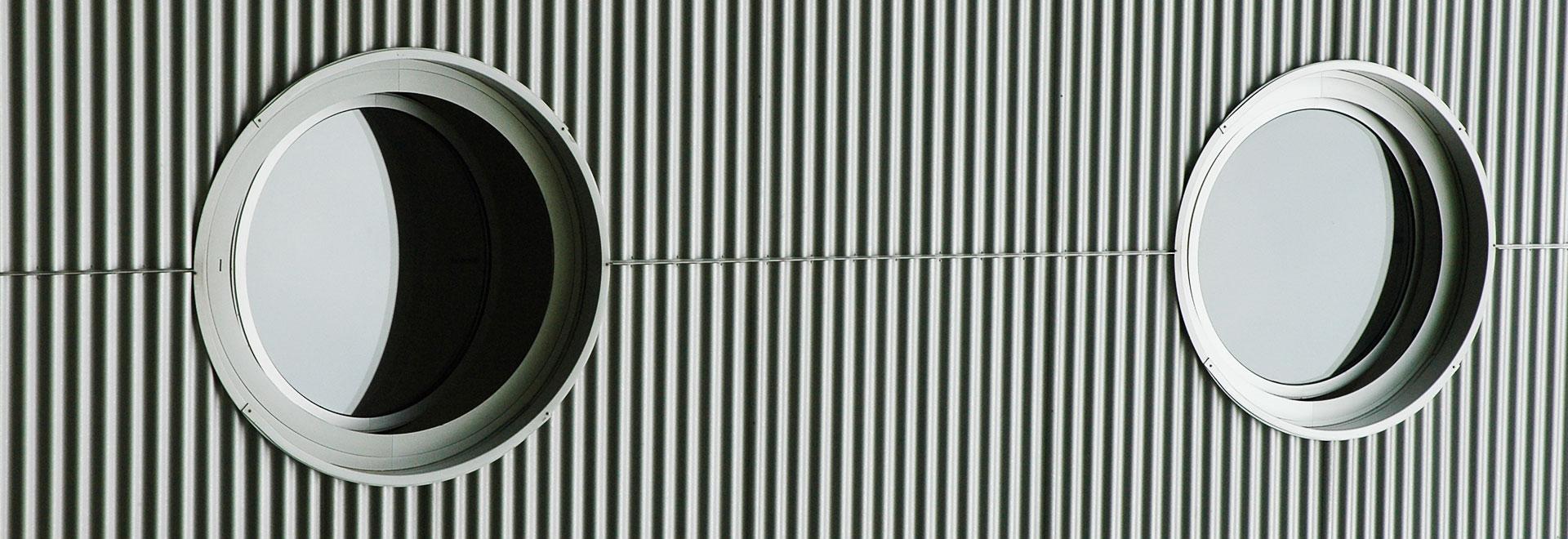 Walter Vögele GmbH in Freiburg: stylische Fassadenverkleidung