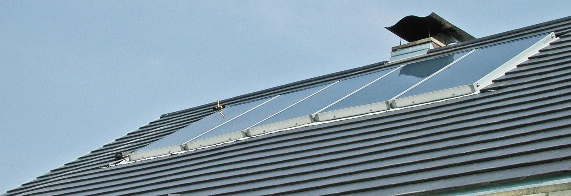 Walter Vögele GmbH in Freiburg: Solaranlage auf Hausdach