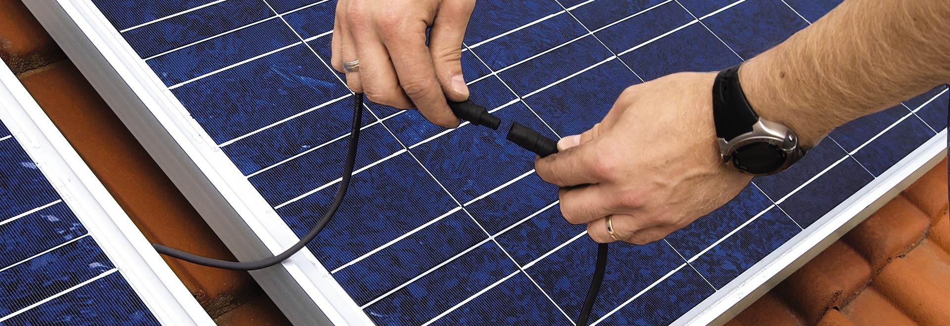 Walter Vögele GmbH in Freiburg: Installation Solaranlage