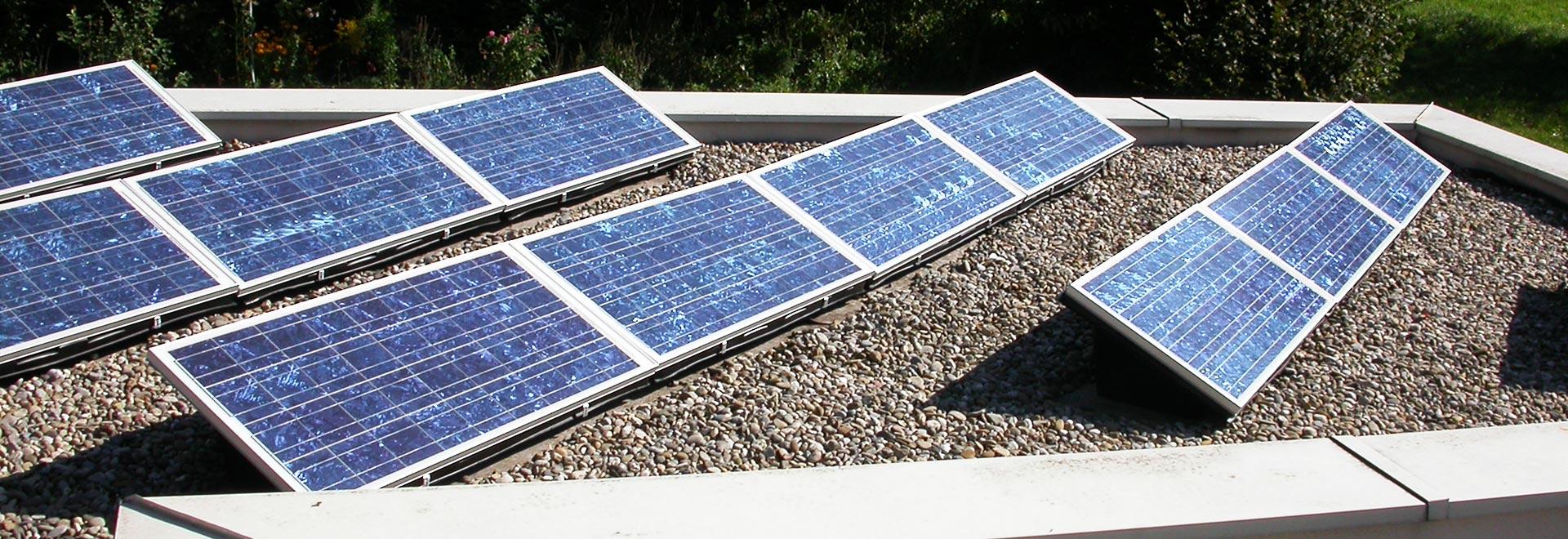 Walter Vögele GmbH in Freiburg: Flachdachnutzung für Solarenergie
