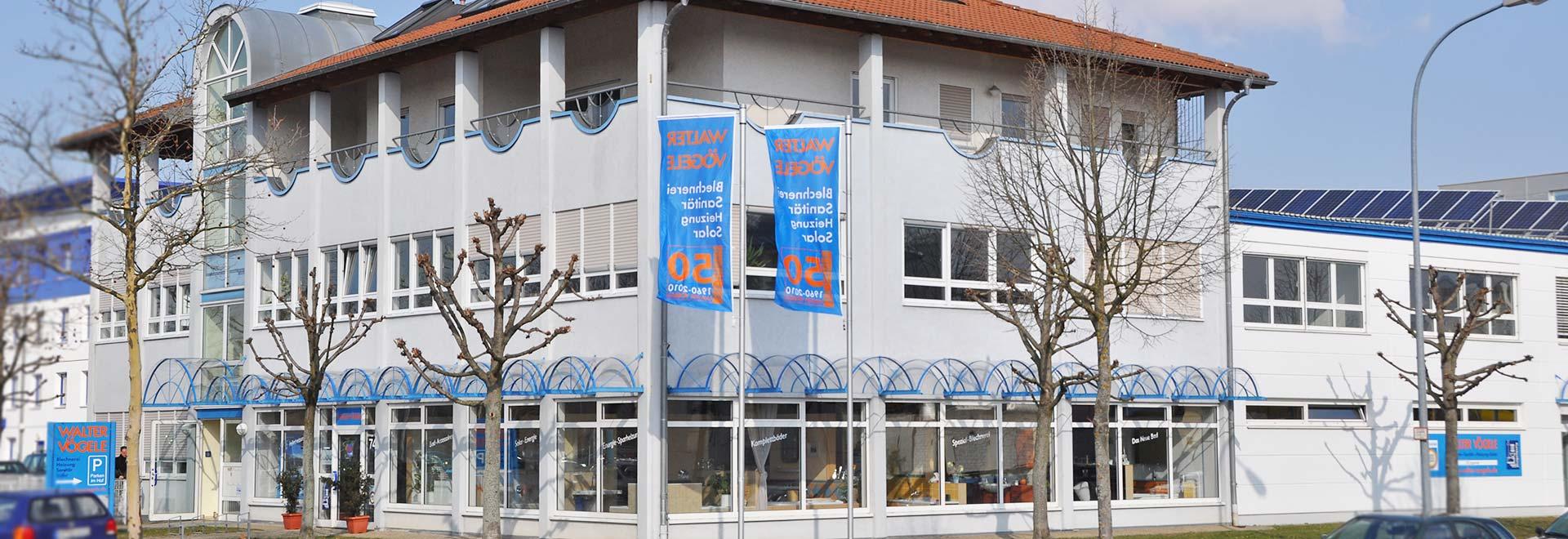 Walter Vögele GmbH in Freiburg: unser Firmensitz in Freiburg