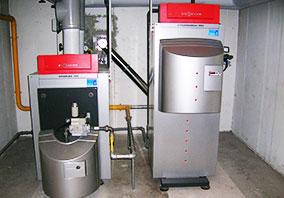Gaskesselanlage